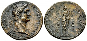 Domitianus AE As, Fortuna reverse 