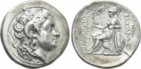 KINGS OF THRACE (Macedonian). Lysimachos (305-281 BC). Tetradrachm. Lampsakos.