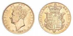 GREAT BRITAIN. George iV, 1820-30. Gold Sovereign 1826, London. 7.99 g. S-3801. Very fine.