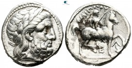 Eastern Europe. Lower Danube Region. Imitations of Philip II of Macedon 300 BC. Tetradrachm AR