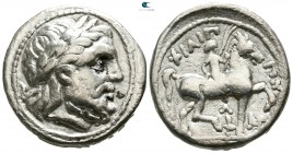 Eastern Europe. Imitation of Philip II of Macedon circa 200-0 BC. Tetradrachm AR
