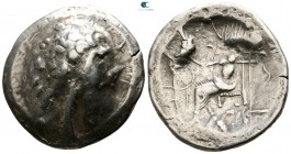 Eastern Europe. Imitations of Alexander III and his successors 200-100 BC. Tetradrachm AR