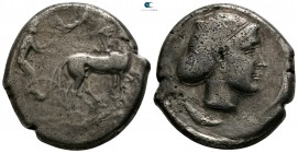 Sicily. Syracuse. Second Democracy 466-405 BC. Struck circa 430-420 BC. Tetradrachm AR