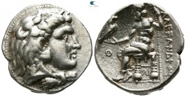 Kings of Macedon. Uncertain mint or Berytos. Time of Alexander III - Philip III circa 324-320 BC. Tetradrachm AR