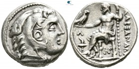 "Kings of Macedon. 'Amphipolis'. Alexander III ""the Great"" 336-323 BC. Tetradrachm AR"