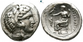 "Kings of Macedon. Pella. Alexander III ""the Great"" 336-323 BC. Struck under Antipater, circa 328/7-323/2 BC. Tetradrachm AR"