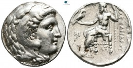 "Kings of Macedon. Uncertain mint. Alexander III ""the Great"" 336-323 BC. Tetradrachm AR"