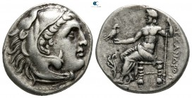 "Kings of Macedon. Uncertain mint in Greece or Macedon. Alexander III ""the Great"" 336-323 BC. Drachm AR"