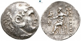"Kings of Macedon. Uncertain mint in Western Asia Minor. Alexander III ""the Great"" 336-323 BC. Struck circa 240-180 BC. Tetradrachm AR"