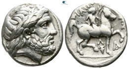 Kings of Macedon. 'Amphipolis'. Philip II. 359-336 BC. struck circa 315/4-295/4 BC. Tetradrachm AR