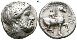 Kings of Macedon. Pella. Philip II. 359-336 BC. Struck circa 342/1-337/6 BC. Tetradrachm AR