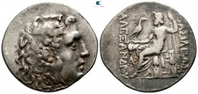 Thrace. Mesembria circa 175-65 BC. In the name and types of Alexander III of Macedon. Tetradrachm AR