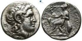 Kings of Thrace. Alexandria Troas. Macedonian. Lysimachos 305-281 BC. Struck circa 297/6-282/1 BC. Tetradrachm AR