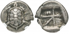 Aegina 350-338 avant J.-C. drachme, AG 5.29 g.