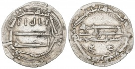 ABBASID, AL-HADI (169-170h), Dirham, al-Yamama 170h. Reverse: with ruler cited as Musa. Weight: 2.75g Reference: Lowick 586. Edge split, good fine and...