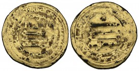 ABBASID, AL-MUTAWAKKIL (232-247h) Contemporary forgery of a dinar, Arminiya 239h. Weight: 3.13g Reference: legends as Bernardi type 157, for which Arm...