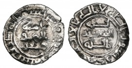 ABBASID, AL-MU'TADID (279-289h), Donative 1/5-dirham, 280h. Weight: 0.59g Reference: Ilisch D III 5. Cleaned, old scrape in reverse field, very fine