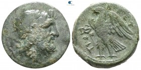 Bruttium. The Brettii 214-211 BC. Unit Æ