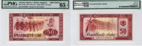 Albania, 50 Leke, 1976, UNC, p45s2