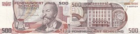Austria, 500 Shillings, 1985, XF (+), p151