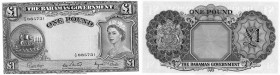 Bahamas, 1 Pound, 1963, AUNC, p15d