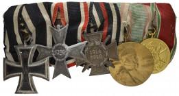 Kolonialauszeichnung Löwenorden 2.Klasse Bronze Kaiserreich Freikorps Orden WK