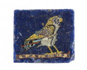 Egyptian Horus Falcon mosaic glass inlay