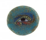 Egyptian Wedjat Eye mosaic glass inlay