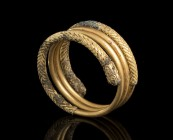 Etruscan Gold Spiral Ring