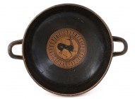 Attic Black-Figure Kylix With Doe