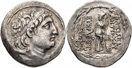 Kings of Cappadocia, Ariarathes VII Philometer, 116 - 101 BC, Silver Tetradrachm