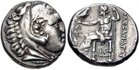 Kingdom of Macedonia, Kassander, 317 - 305 BC, Silver Tetradrachm, Amphipolis Mint