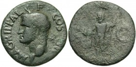 Agrippa, Issue by Caligula, 37 - 41 AD, AE As