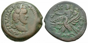 Antoninus Pius, 138 - 161 AD, Drachm of Alexandria, Zeus Seated on Eagle