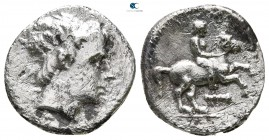 Kings of Macedon. Amphipolis. Kassander 306-297 BC. Struck in the name and types of Philip II. 1/5 Tetradrachm AR