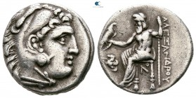 Kings of Macedon. Lampsakos. Antigonos I Monophthalmos 320-301 BC. In the name and types of Alexander III. Struck circa 310-301 BC. Drachm AR