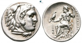 "Kings of Macedon. Abydos. Alexander III ""the Great"" 336-323 BC. Struck circa 323-317 BC. Drachm AR"