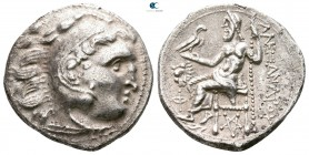 Kings of Thrace. Kolophon. Macedonian. Lysimachos 305-281 BC. In the name and types of Alexander III. Struck circa 301/0-300/299 BC. Drachm AR