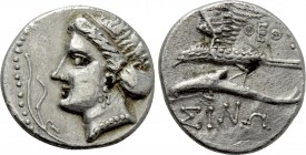 PAPHLAGONIA. Sinope. Drachm (Circa 330-300 BC). Theot-, magistrate. Contemporary imitation.