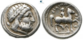 Eastern Europe. Imitation of Philip II of Macedon 320-280 BC. Tetradrachm AR