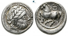 Eastern Europe. Imitation of Philip II of Macedon 300-200 BC. Drachm AR