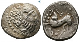 Eastern Europe. Imitation of Philip II of Macedon 100 BC. Tetradrachm AR
