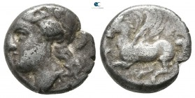 Sicily. Syracuse. Timoleon and the Third Democracy 344-317 BC. Struck circa 344-339/8 BC. Drachm AR