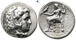 Kings of Macedon. 'Babylon'. Philip III Arrhidaeus 323-317 BC. In the name and types of Alexander III. Tetradrachm AR