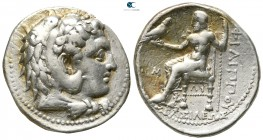 Kings of Macedon. 'Babylon'. Philip III Arrhidaeus 323-317 BC. In the types of Alexander III. Tetradrachm AR
