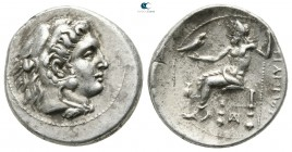 Kings of Macedon. Side. Philip III Arrhidaeus 323-317 BC. In the types of Alexander III of Macedon. Drachm AR