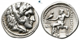 "Kings of Macedon. Carrhae (?). Alexander III ""the Great"" 336-323 BC. Drachm AR"