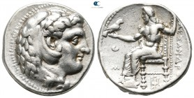 "Kings of Macedon. Tarsos. Alexander III ""the Great"" 336-323 BC. Struck under Menes or Philotas, circa 327-323 BC. Tetradrachm AR"