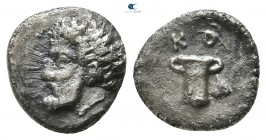 Kings of Thrace. Kotys I 382-359 BC. Diobol AR