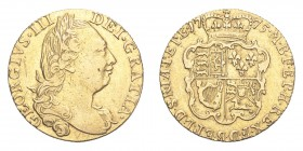 GREAT BRITAIN. George III, 1760-1820. Gold Guinea 1775, London. 8.36 g. S-3727; Fr-354. AVF.